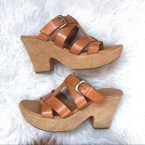 Kork-Ease | Cognac Leather Beatrice Heel 10